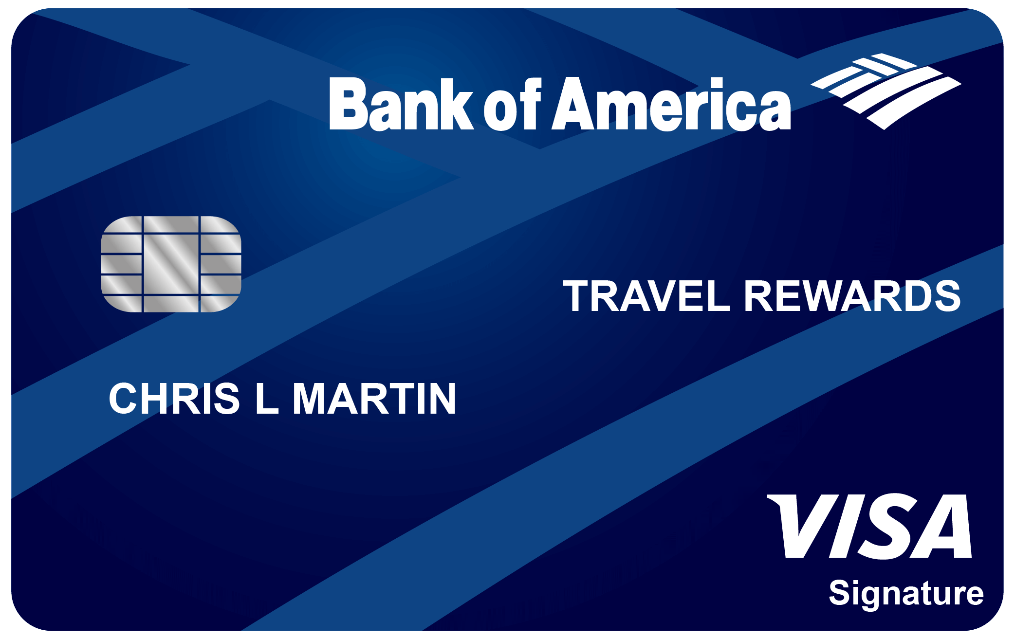 Best travel credit cards gobankingrates bank of america travel rewards card bankamericard travel rewards credit card reheart Images