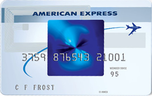 Blue Sky From American Express credit card