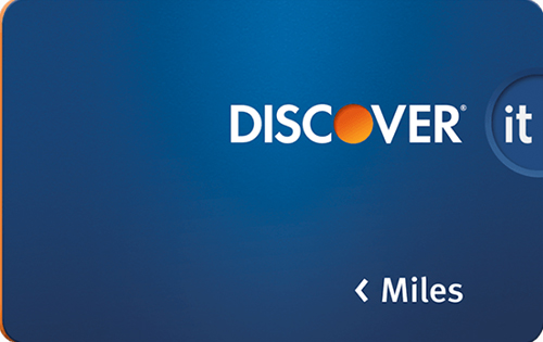 Discover it Miles travel rewards