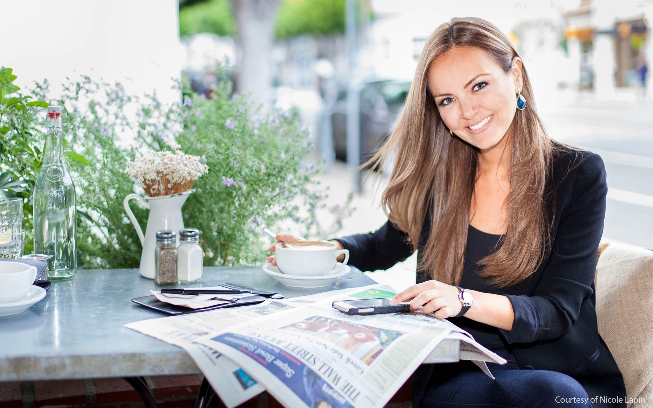 Nicole Lapin money advice