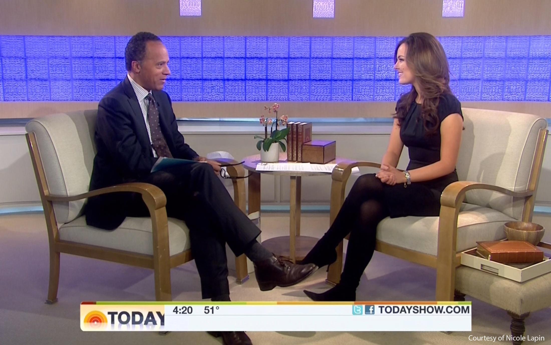 Nicole Lapin on NBC