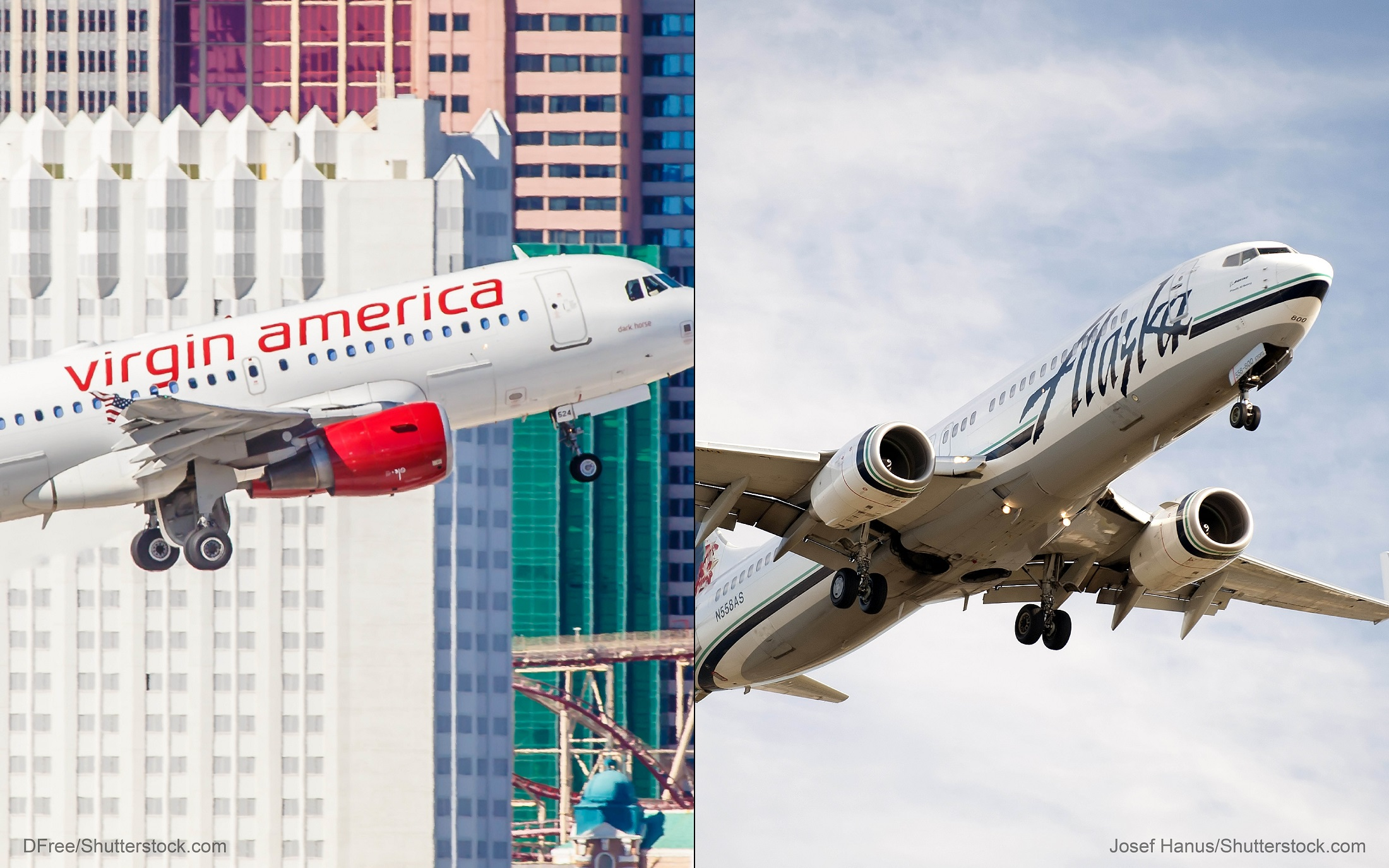 Virgin America-Alaska Airlines merger