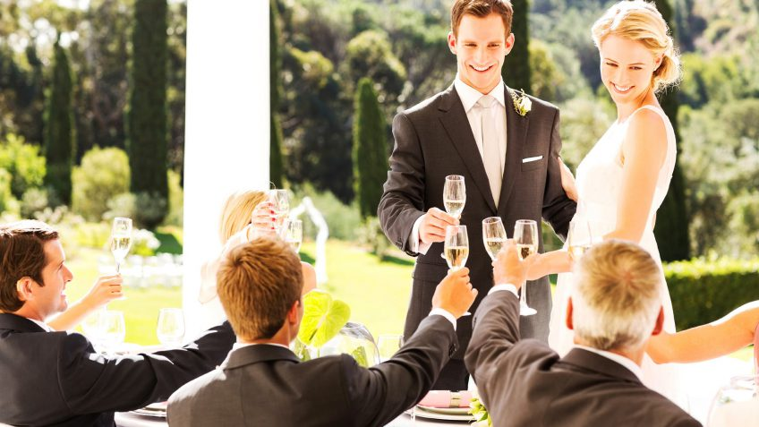 Groomsmen Actually Pay More Than Bridesmaids for Wedding Duties, Survey Finds