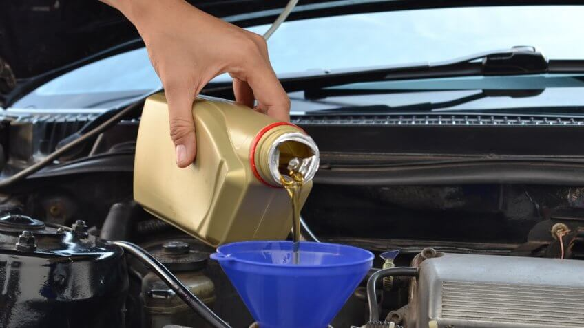 When should you change your oil on a new car 14
