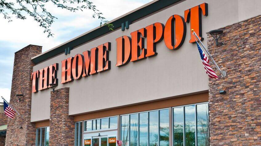 Home Depot rewards program