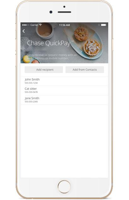 Chase Freedom Mobile QuickPay