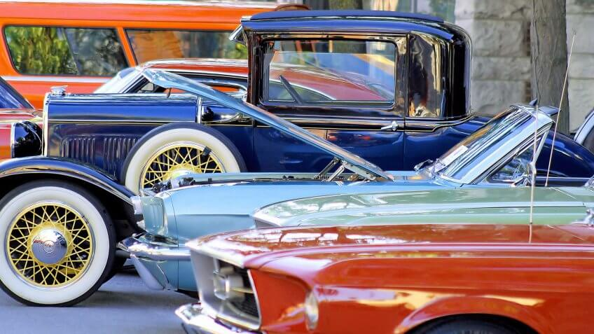 Antique, Car, Classic Cars - Stock imageStreet, Collector's Car, Vintage Car