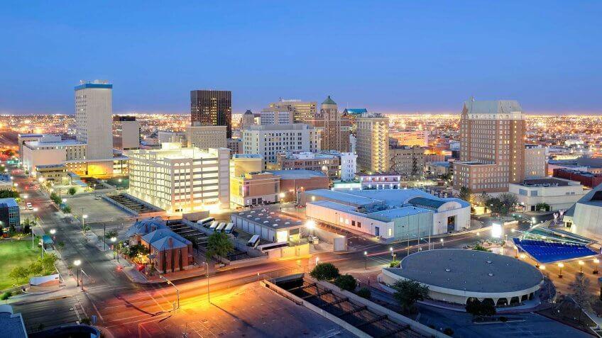 Texas, El Paso - Texas, Urban Skyline, City, Building Exterior.