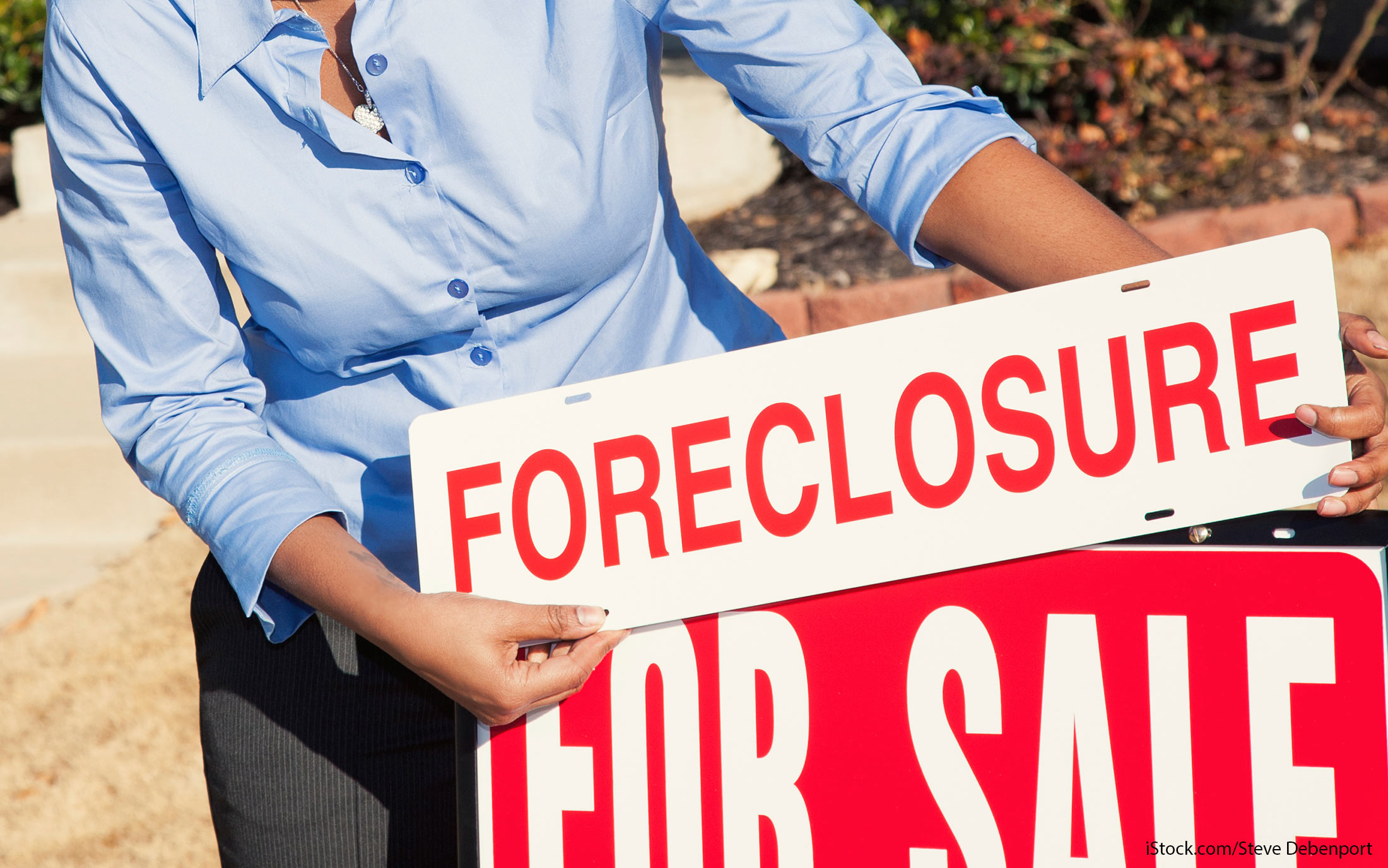 early withdrawal foreclosure