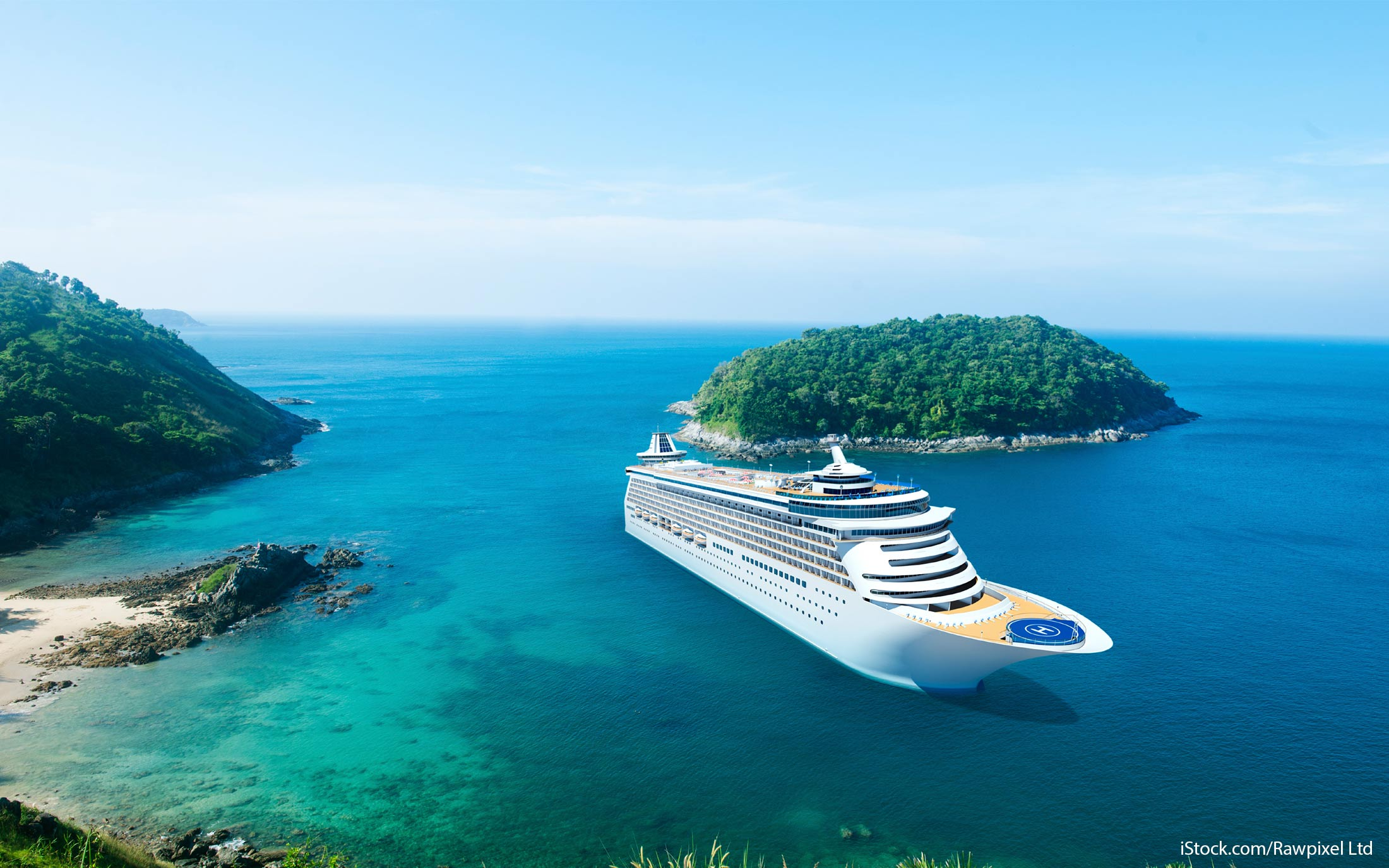 book with a cruise line
