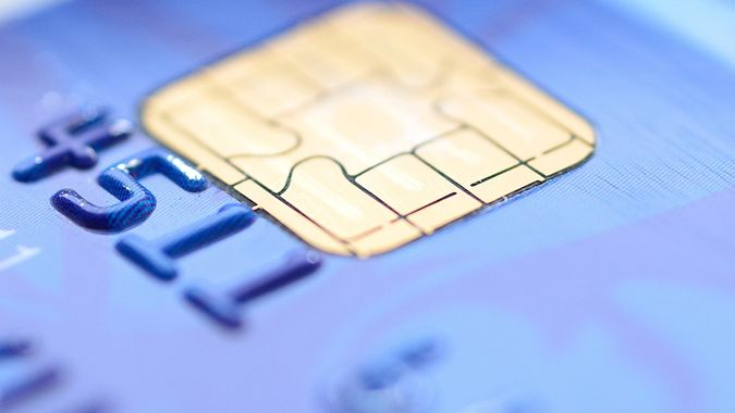 chip on a credit card