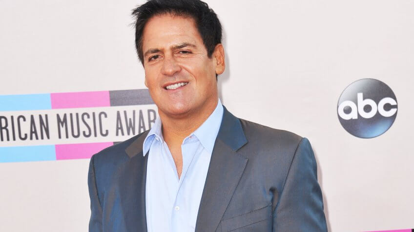 Mark Cuban in his 20s