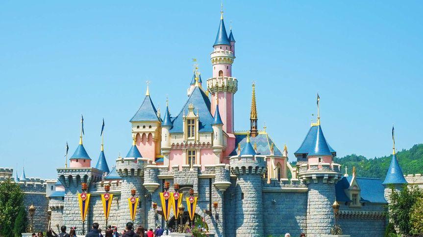 Sleeping Beauty Castle in Disneyland