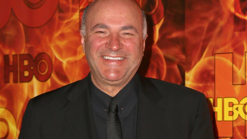 Kevin O'Leary kids