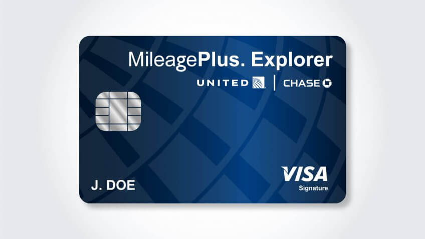 united explorer mileageplus credit card login