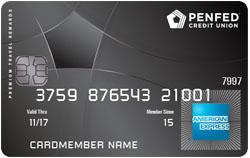 Penfed Amex Travel Credit Card