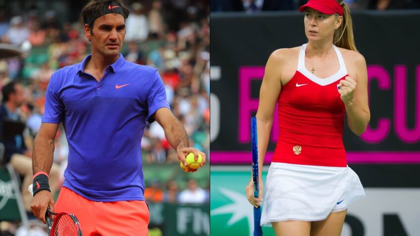 French Open 2016: Roger Federer Net Worth vs. Maria Sharapova Net Worth and More