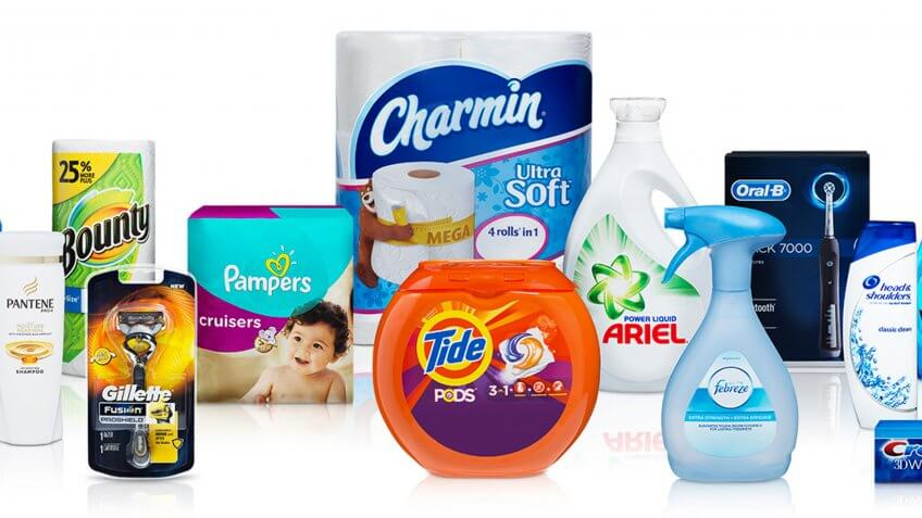 P&G Brands, Procter and Gamble.