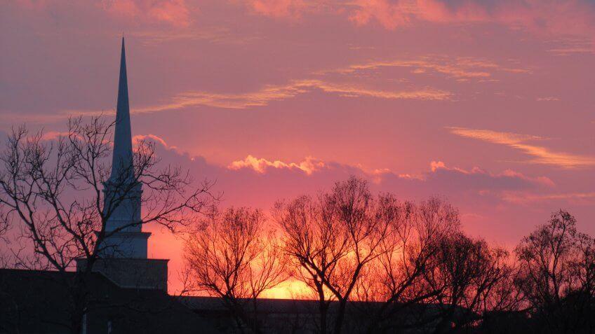 Killeen Texas sunset