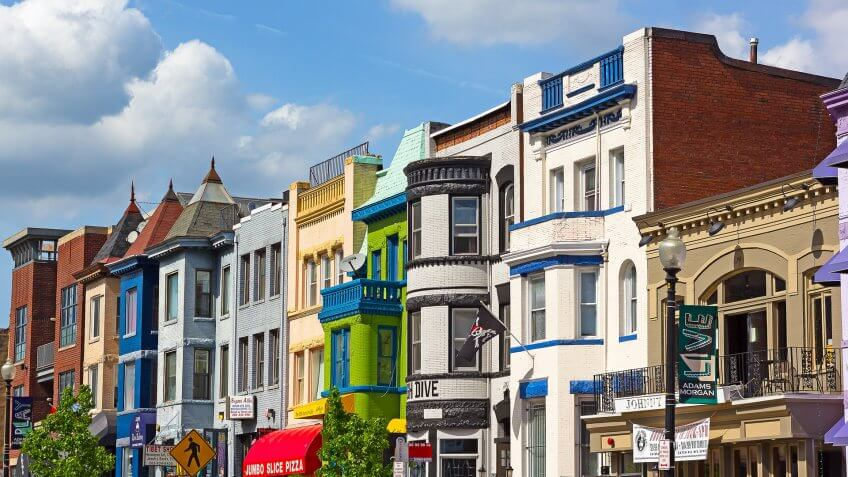 11825, Apartments, BUILDING, Building-Type, Cities, District of Columbia, Here's What an Average Apartment Costs in 50 US Cities, House, States, US, USA, Washignton DC, america