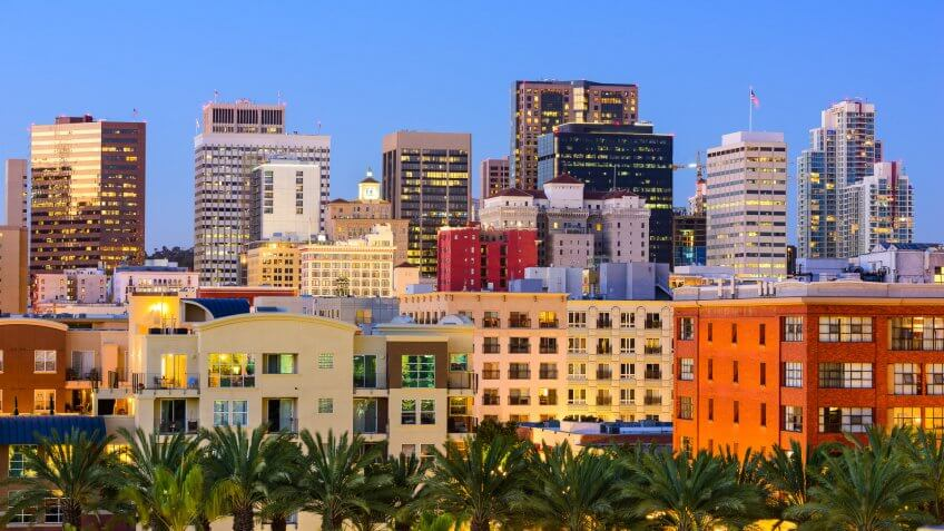 11825, Apartments, BUILDING, Building-Type, Cities, Here's What an Average Apartment Costs in 50 US Cities, House, San Diego California, States, US, USA, america