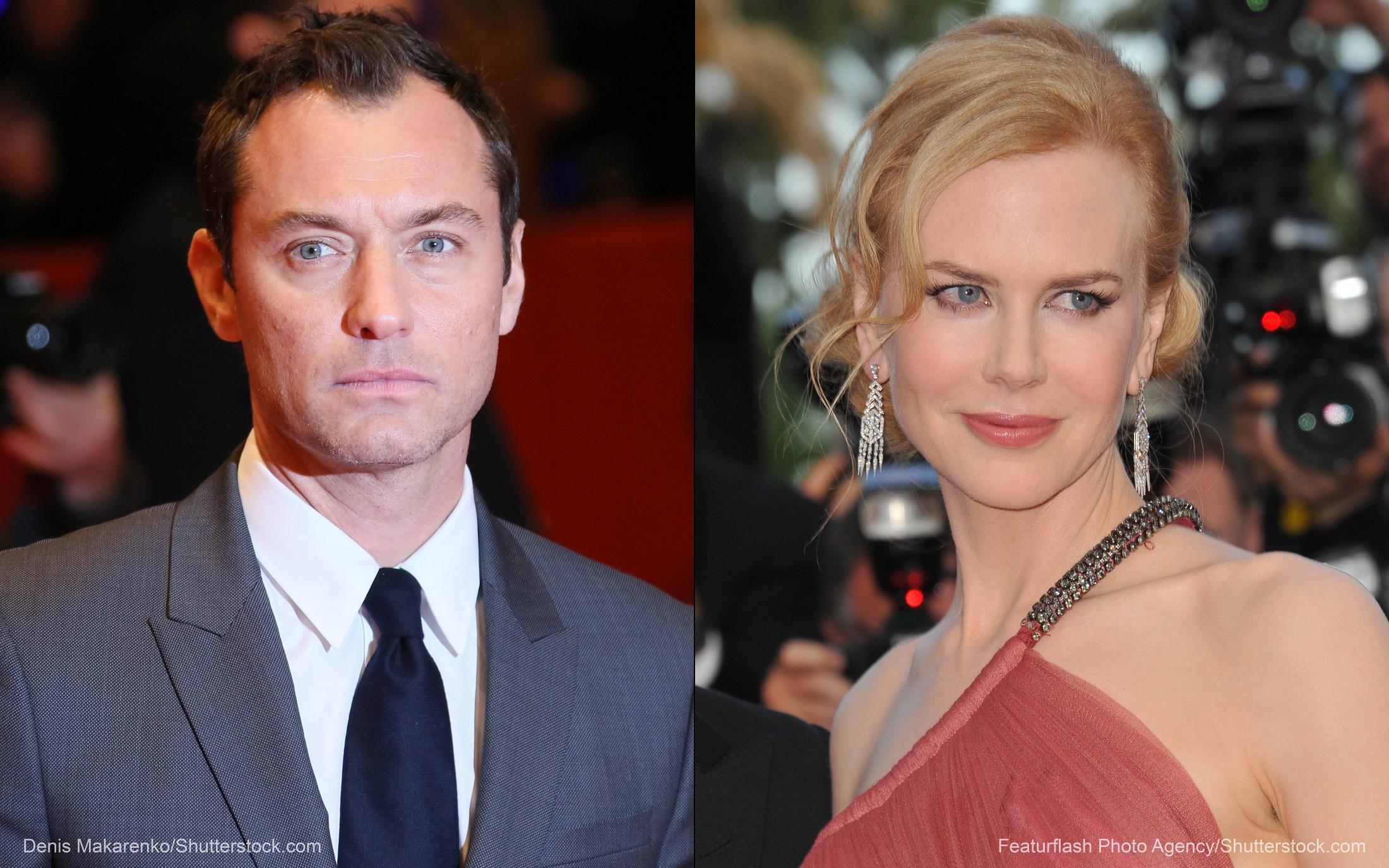 Jude Law and Nicole Kidman in 'Genius'