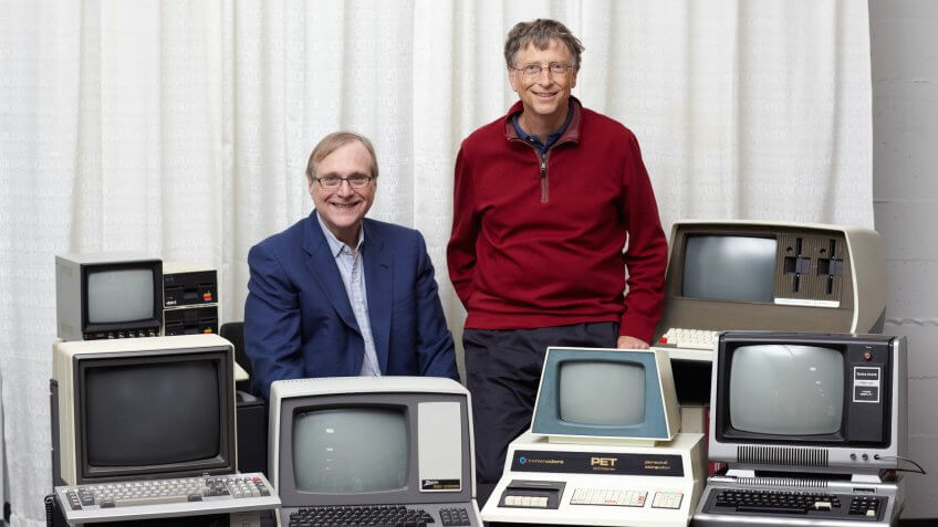 11790, Bill Gates, Business, Partnership, Paul Allen
