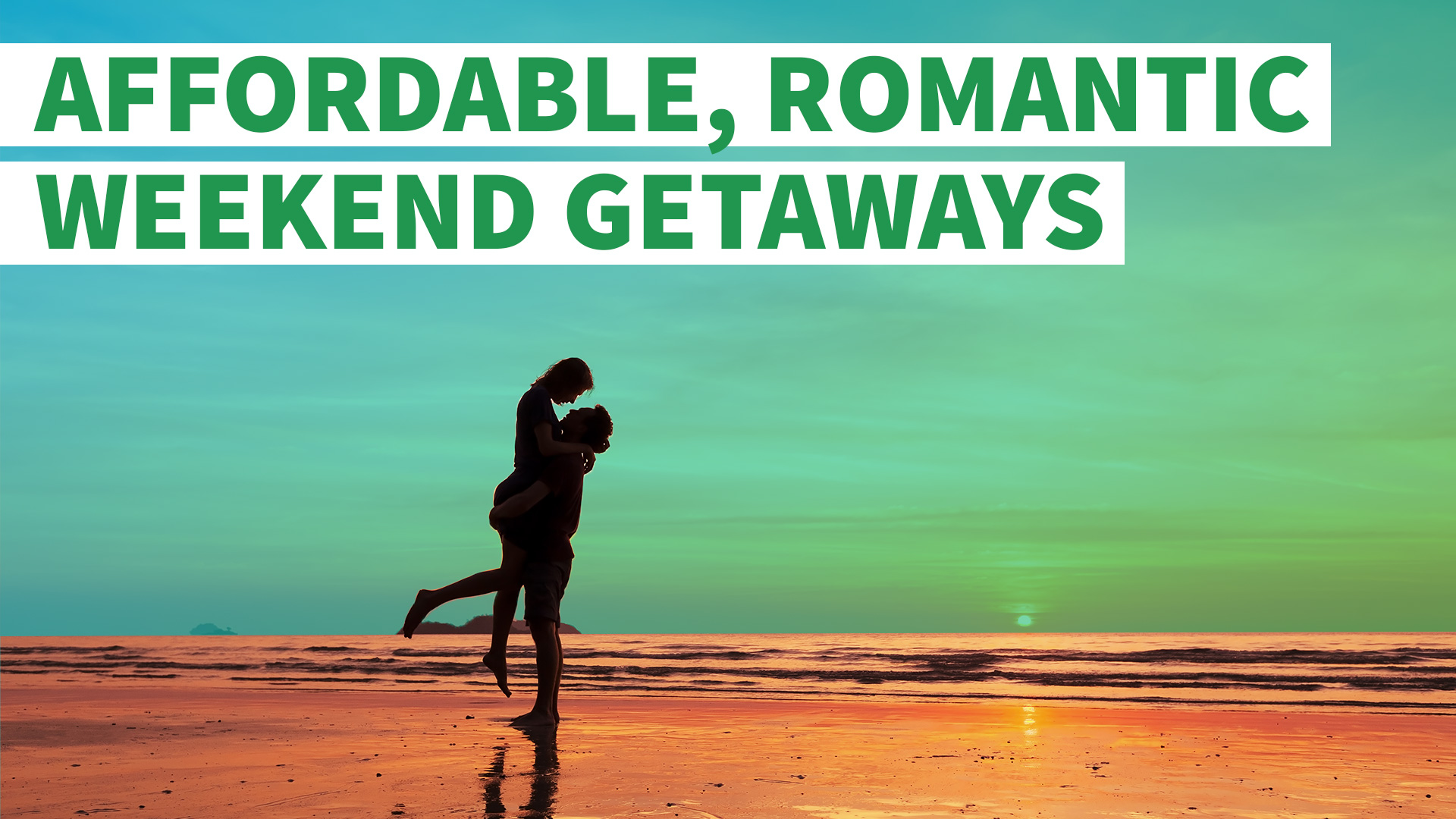 7 affordable romantic weekend getaways gobankingrates for Where to go for a romantic weekend