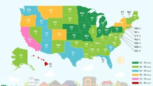 Here's How Many Hours You Have to Work to Afford a Home in Each State