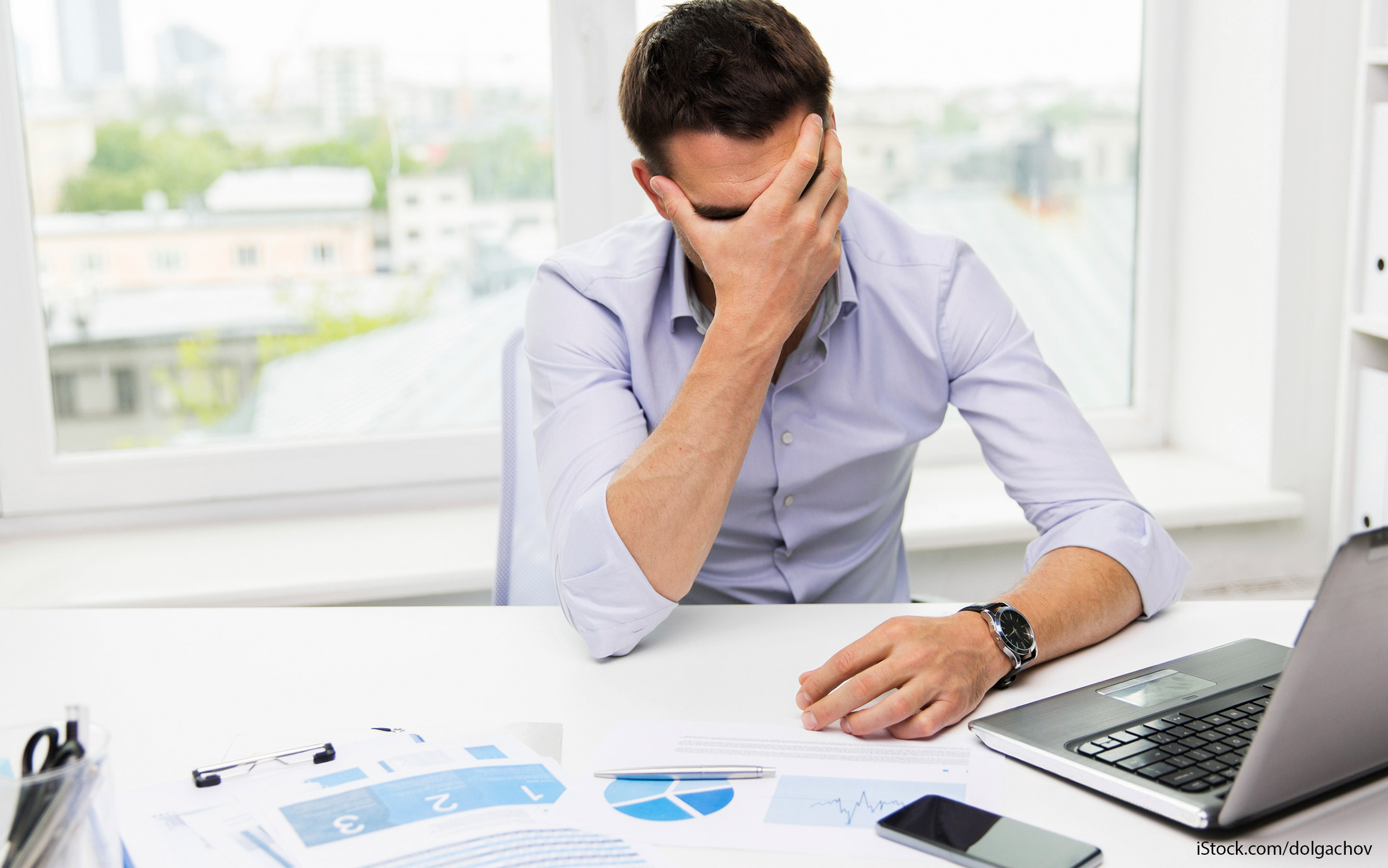 credit score declining