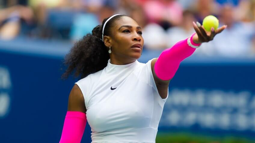 Serena Williams tennis athlete