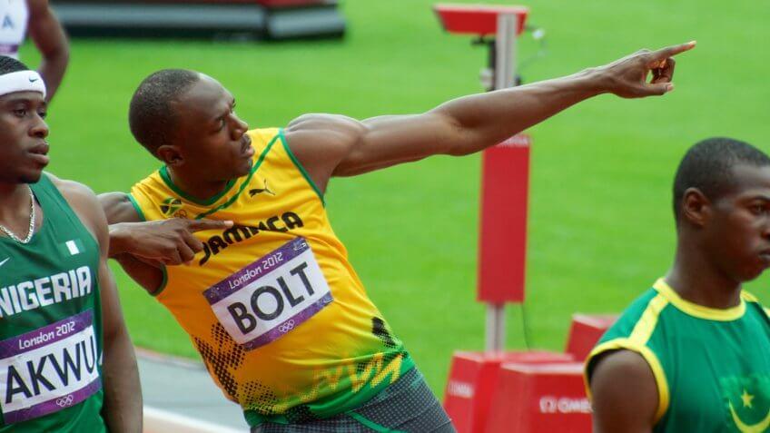 Jamaican, Olympians, Usain Bolt, athletes, sports, sprinter