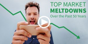 Top Market Meltdowns Over the Past 50 Years