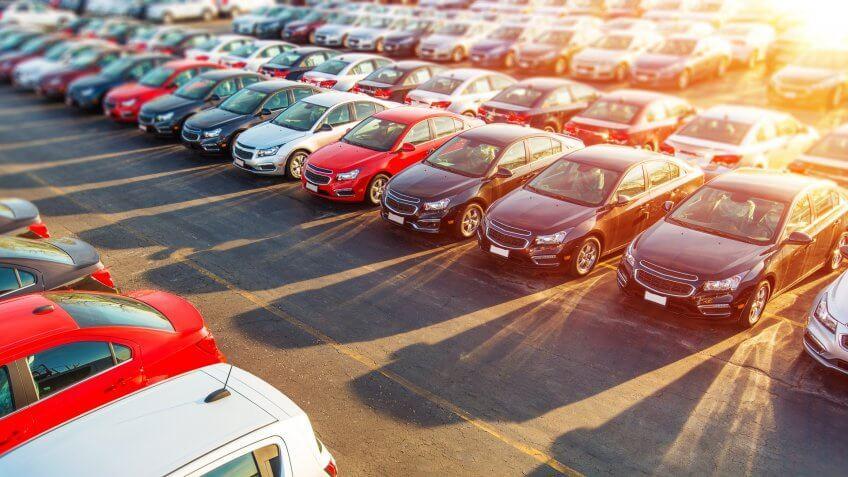 Dealer New Cars Stock.