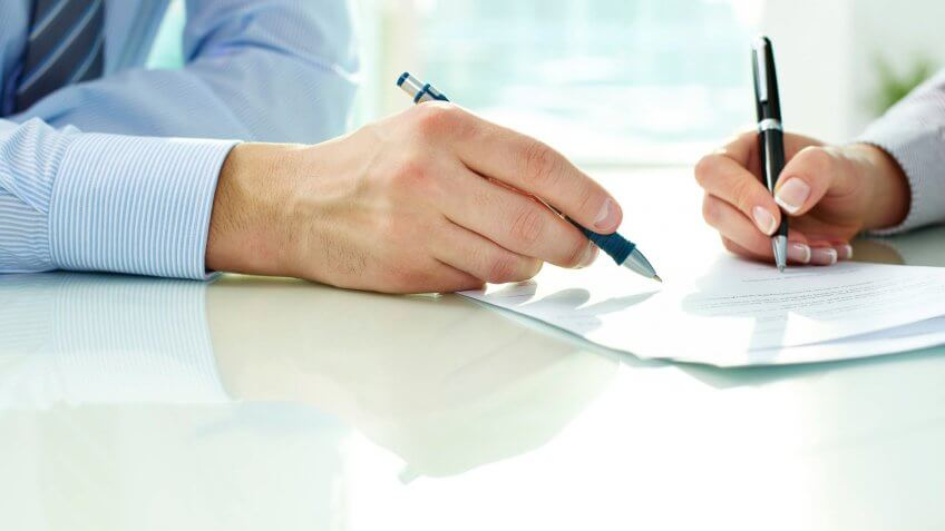 co-signing a loan