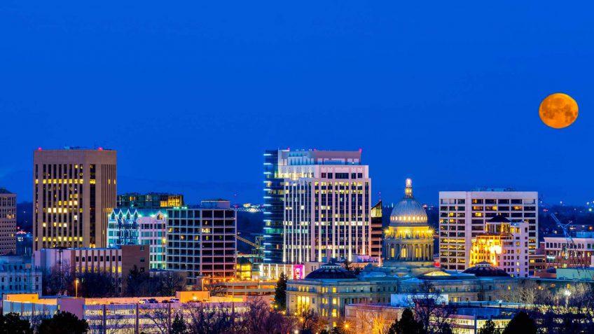 Idaho salaries