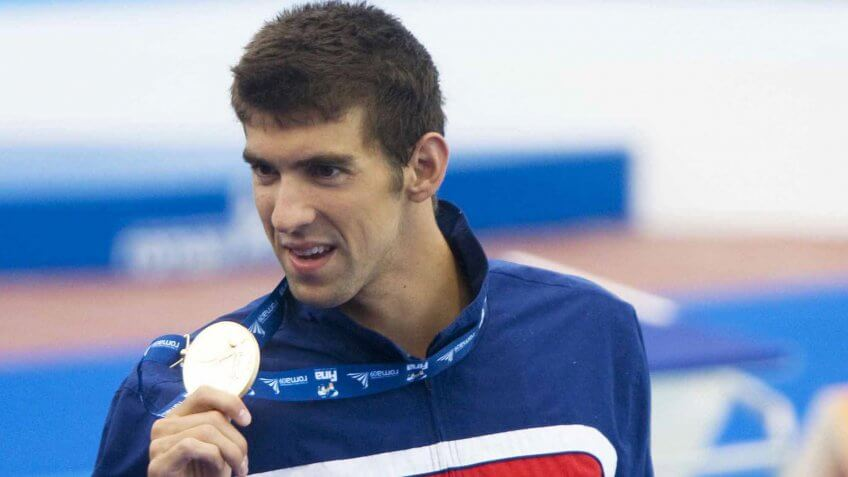 Michael Phelps, Olympians, athletes, sports, swimmer