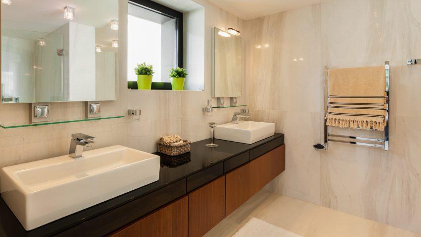 bathroom fixture costs
