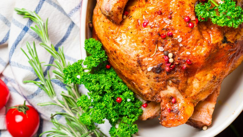 Whole Foods roasted chicken
