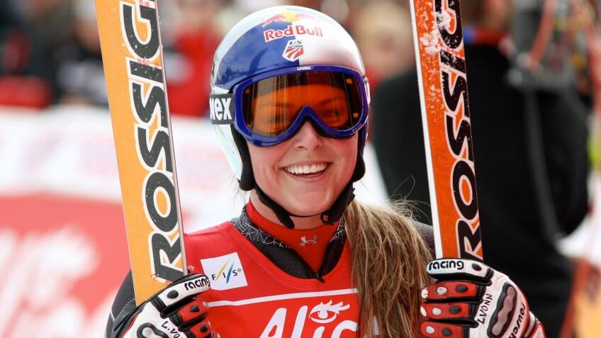 Lindsey Vonn, Olympians, apline ski racer, athletes, sports, u.s. ski team
