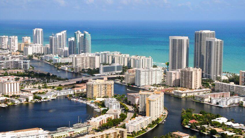 miami waterfront skyline