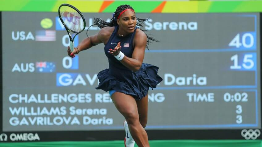 Olympians, Serena Williams, athletes, sports, tennis player
