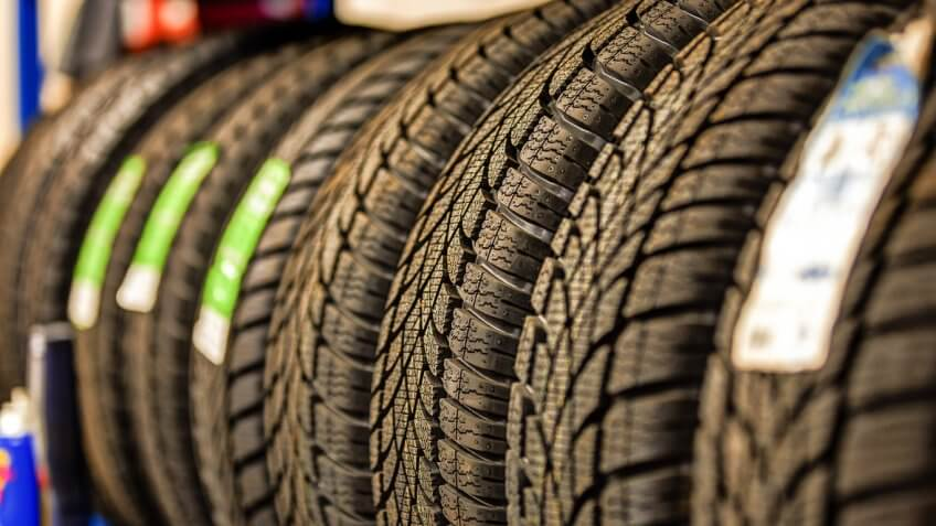row car tires