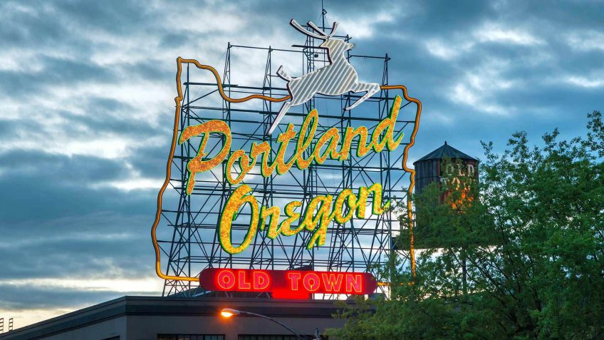 Oregon salaries