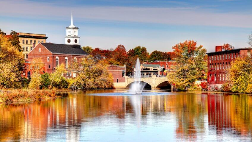 Nashua is a city in Hillsborough County, New Hampshire and is the second largest city in the state.