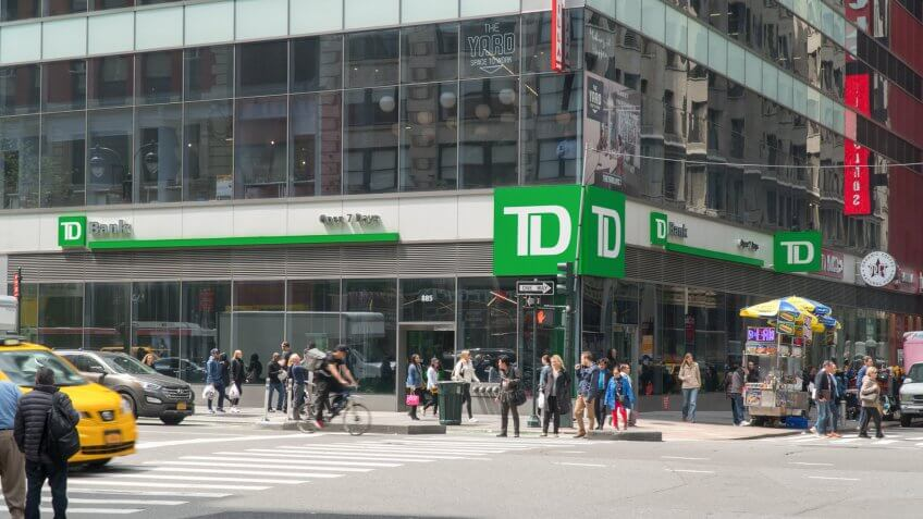 11346, Horizontal, TD Bank, banks