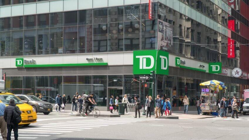 11346, Horizontal, TD Bank, banks