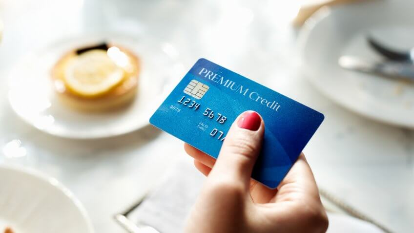 Shopping Online Payment Shop Credit Card Concept.