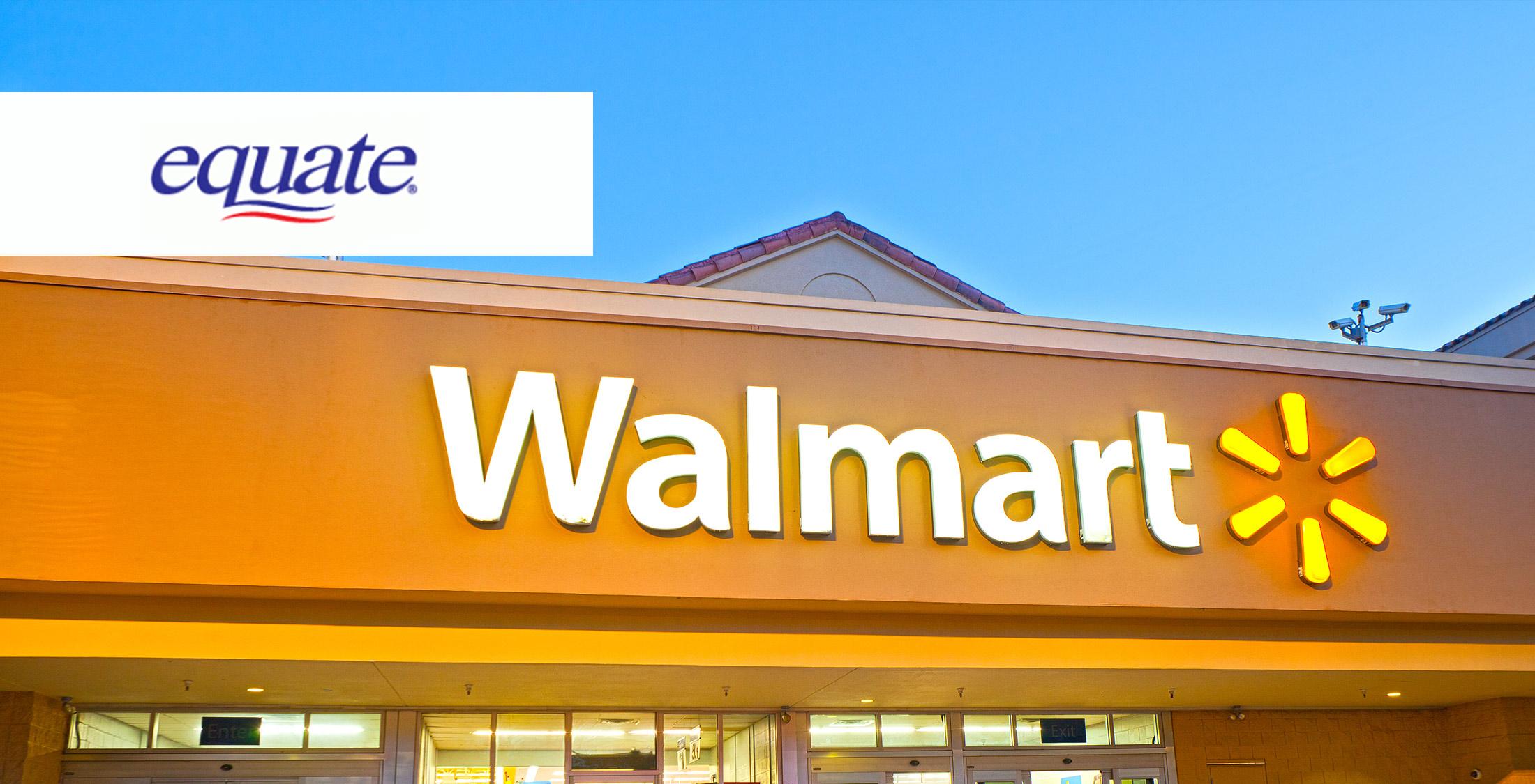 Walmart Equate