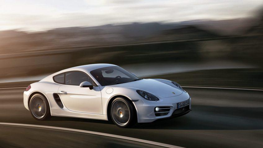 Porsche Cayman gas mileage